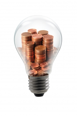 Bulb Lamp Coin by Pixomar