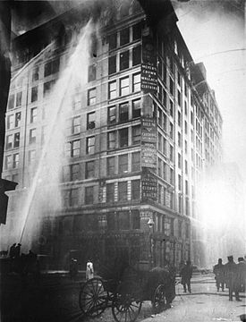 Acidentes industriais: Triangle Shirtwaist Factory fire